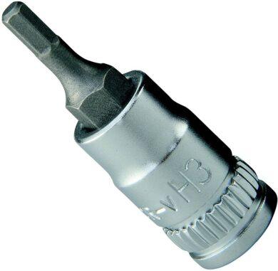 """NAREX 443001026 Hlavice 1/4"""" zástrčná imbus 4mm(7892538)"""