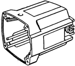 NAREX 00622890 Skříň motorová EPK 16-Skříň motorová EPK 16, EPK 16C, EPK 16D, EPK 15