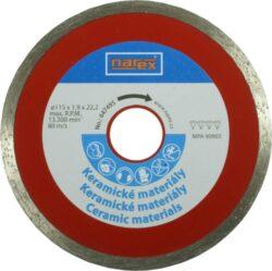 NAREX 00647495 Kotouč diamantový 115 keramik-Diamantový řezný kotouč 115mm na keramiku, Narex