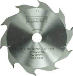 NAREX 00647503 Kotouč pilový HW 160x2,5x20 10FZ Sprinter-Pilový kotouč SPRINTER