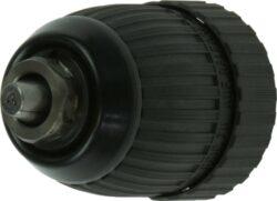 NAREX 00619614 Sklíčidlo rychloupínací 1,5-13 mm PVC-sklíčidlo rychloupínací pro vrtáky se stopkou 1,5-13mm plastový plášť, závit 1/2 - 20 UNF