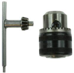 NAREX 00647531 Sklíčidlo zubové s kličkou 3-16 mm/zámek-sklíčidlo zubové s kličkou pro vrtáky se stopkou 3-16mm s pojistným zámkem, závit 5/8 - 16 UNF