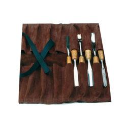 NAREX 899600 Kapsář pro 14ks dlát kožený 372x330-Kapsář