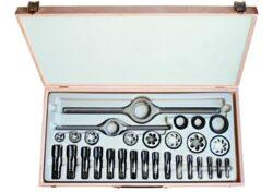 Kazeta řezného nářadí G1-II HSS BUČOVICE 340100-Souprava závitořezných nástrojů