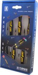 NAREX 862624 Sada šroubováků SWK1,5-3,5mm MICRO-Sada šroubováků šestihranných s kulovou hlavou 6-dílná MICRO LINE PROFI