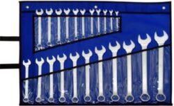 NAREX 443000588 Sada klíčů 22dílná očkoplochých 3113.622-22dílná sada klíčů ve vinylovém pouzdře DIN3113