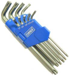 NAREX 443000340 Sada klíčů 9dílná TORX TX10-50-Sada klíčů 9dílná TORX TX10-50