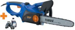 AKCE NAREX 65403918 Pila řetězová 2000W 40cm EPR 40-20 + příslušenství-Elektrick� �et�zov� pila 2000W, 40cm, quick nap�n�n� �et�zu + rukavice a olej