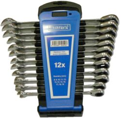 NAREX 443100593 Sada klíčů 12dílná ráčnových plast. držák DIN3113-Sada klíčů 12dílná ráčnových plast. držák DIN3113