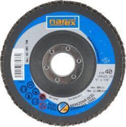 NAREX 65403790 Kotouč lamelový 125mm P40