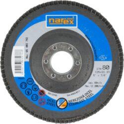NAREX 65403792 Kotouč lamelový 125mm P80