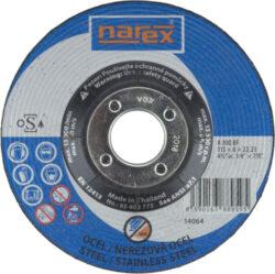 NAREX 65403773 Kotouč brusný 115/6mm na kov vypouklý A 30Q BF