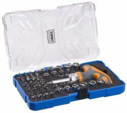 NAREX 65404066 Sada bitů a hlavic se šroubovákem 61dílná 61-Tool Box-Sada bitů a hlavic se šroubovákem 61dílná