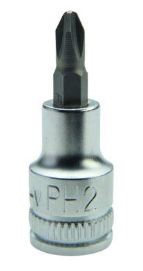 """NAREX 443001245 Hlavice 1/4"""" zástrčná PH1(7901011)"""