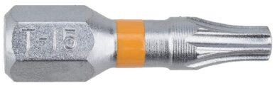 NAREX 65404461 Bit T15x25mm TORX Orange (20ks) SUPERLOCK(7911622)