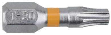 NAREX 65404463 Bit T20x25mm TORX Orange (20ks) SUPERLOCK(7911623)