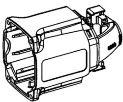 NAREX 00624078 Skříň motorová MR 230.00 EVP 13-Skříň motorová EV 13 E-2H3,EV 13 F-H3,EVP 13 E-2H3,,EVP 13-2R70,EVP 13 E-H3,ESR 20-5