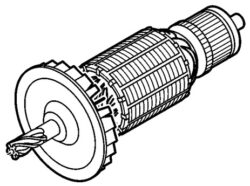NAREX 66623682 Rotor AGP 150-15-Rotor pro EBU 15 F, AGP 150-15