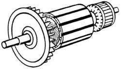 NAREX 66595490 Rotor EBU 12-Rotor pro EBU 11, EBU 12, EBU 13, EBU 13 B