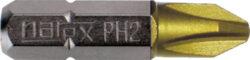 NAREX 830280 Bit PH0 25mm TIN