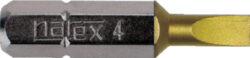 NAREX 830181 Bit PL 0,6x4,0 25mm TIN