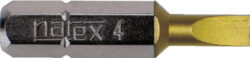 NAREX 830182 Bit PL 0,8x5,0 25mm TIN