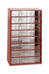 MARS 6753 Skříňka na nářadí 8V červená-Skříňka na nářadí 8V červená
