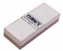 NAREX 895100 Brousek oboustranný-Brousek na dláta a nože 50x25x130mm jemnozrnný / hrubozrnný, Narex