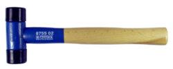 NAREX 875501 Palička s dřevěnou rukojetí 270mm-Palička montážní s plastovými údernými konci 270mm, hmotnost 238g
