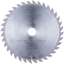 NAREX 00614112 Kotouč pilový HW 160x2,5x20 36WZ Shark-Pilový kotouč SHARK