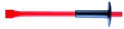 NAREX 885904 Sekáč plochý s chráničem 400mm-Sekáč plochý ruční 400mm s chráničem, rozměr 32x18mm, Cr-V ocel