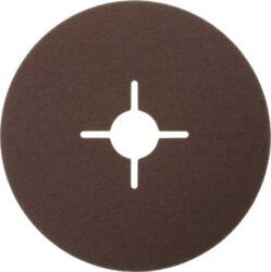 NAREX 65403807 Fíbrový brus 125mm P120 /00614392/-Fíbrový brusný kotouč 125mm na kov a dřevo, Narex