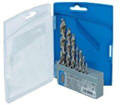 NAREX 00763332 Sada vrtáků do kovu vybrušovaných 7dílná-PVC pouzdro s vrtáky CZ002, 7dílů  3, 4, 5, 6, 7, 8, 10mm