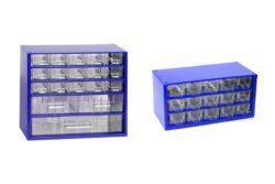 MARS 6796 Sada skříněk 6760 + 6740 modrá-Sada dvou skříněk