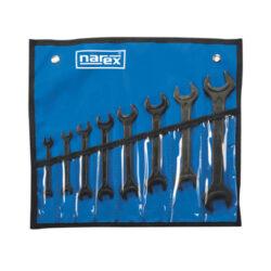 NAREX 443000581 Sada klíčů 8dílná vinyl 895.508-8dílná sada klíčů ve vinylovém pouzdře DIN895
