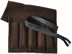 NAREX 899610 Kapsář pro 5ks dlát kožený 360x220-Kapsář