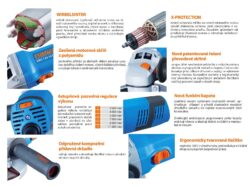 NAREX 65403737 EBU 125-14 CE Bruska úhlová 125mm 1400W(7895459)