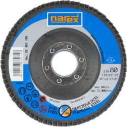 NAREX 65403788 Kotouč lamelový 115mm P80