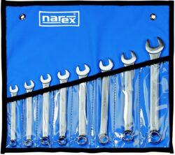 NAREX 443000718 Sada klíčů 8dílná inch očkoplochých vinyl-Sada klíčů 8dílná inch očkoplochých vinyl