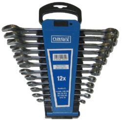NAREX 443000731 Sada klíčů 12dílná inch očkoplochých plast. držák-Sada klíčů 12dílná inch očkoplochých plast. držák