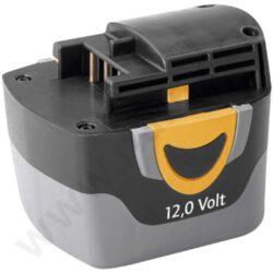 NAREX 65404427 Akumulátor 12V 1,7 Ah NiMh AP 12 MH                              -Nahrazuje akumulátory AP 12 CE (NiCd) pro stroje ASV 12 E / ASV 12 EA / AS 12-3