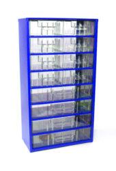 MARS 6754 Skříňka na nářadí 8S 4V modrá-Skříňka na nářadí 8S 4V modrá