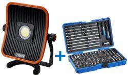 NAREX 65405197 Sada reflektor FL LED 50 ACU + sada bitů 127-Bit Box-Sada reflektor FL LED 50 ACU + sada bitů 127-Bit Box
