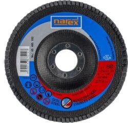 NAREX 65405182 Kotouč lamelový 125mm P80 LK 27 ZA
