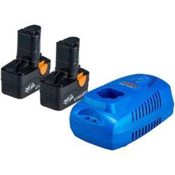 NAREX 65405496 Set akumulátorů 20V 2x3,0Ah s nabíječkou SET AP 206-Set akumulátorů 20V 2x3,0Ah s nabíječkou