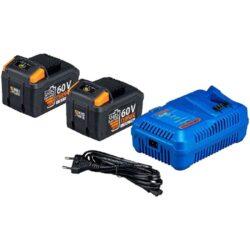 NAREX 65405498 Set akumulátorů 60V 2x2,0Ah s nabíječkou SET AP 617-Set akumulátorů 60V 2x2,0Ah s nabíječkou
