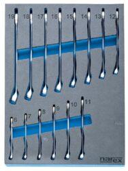 NAREX 443000998 Modul klíčů očkoplochých DIN3113 14dílný-Modul klíčů očkoplochých DIN3113 14dílný