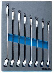 NAREX 443001000 Modul klíčů očkoplochých DIN3113 8dílný-Modul klíčů očkoplochých DIN3113 8dílný
